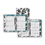 "Day Runner Elegant Floral Academic Planner Weekly, Monthly - 3"" x 6"""