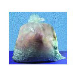 Inteplast Low Density Clear Trash Bags, 44 Gallon, 1 Mil