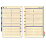 "Daytimer Planner Refill For Flavia Cal, Jan Dec, 1PPD, 5 1/2""x8 1/2"""