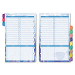 Daytimer Dated One-Page-Per-Day Organizer Refill, 5-1/2 x 8-1/2