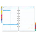 Daytimer Flavia Dated Two-Page-per-Day Organizer Refill, 5-1/2 x 8-1/2, 2015