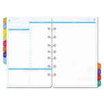 Daytimer Flavia Dated Two-Page-per-Day Organizer Refill, 5-1/2 x 8-1/2, 2016