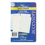Daytimer Planner Refill, Flavia® Design Note Pads, 5 1/2 x 8 1/2, 2 Pads, 24 Sheets Each