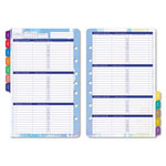 Daytimer Flavia Dated Two-Page-per-Week Organizer Refill, 5-1/2 x 8-1/2