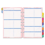 Daytimer Flavia Dated Two-Page-per-Week Organizer Refill, 5-1/2 x 8-1/2, 2015