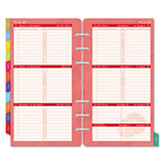 Daytimer Flavia Dated Two-Page-per-Week Organizer Refill, 3-3/4 x 6-3/4, 2015