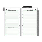 Daytimer Reference Dated Two-Page-per-Day Organizer Refill, 3-3/4 x 6-3/4, 2016