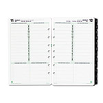 "Daytimer Dated One-Page-per-Day Organizer Refill, January December, 5 1/2""x8 1/2"""