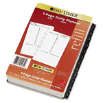 Daytimer One-Page-per-Day Academic Organizer Refill, July-June, 5-1/2 x 8-1/2