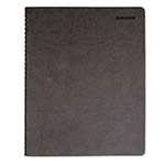 "Daytimer DualView Weekly/Monthly Planner, 8 1/2""x11"", Gray"