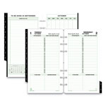 "Daytimer Calendar Set, Jan.-Dec., 1 PPD, Portable Size, 3-3/4""x6-3/4"""