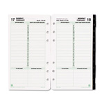 Daytimer Dated One-Page-per-Day Organizer Refill, January-December, 3-3/4 x 6-3/4, 2015