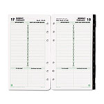 Daytimer Dated One-Page-per-Day Organizer Refill, January-December, 3-3/4 x 6-3/4, 2016