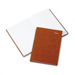 Daytimer Leatherlike Journal, 5 1/2 x 7 3/4, Camel
