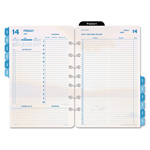 Daytimer Coastlines Dated Two-Page-per-Day Organizer Refill, 5-1/2 x 8-1/2, 2015