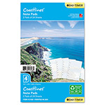 Daytimer Planner Refill, Coastlines® Note Pads, 5 1/2 x 8 1/2, 2 Pads, 24 Sheets Each