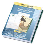 Daytimer Coastlines Dated Two-Page-Per-Day Organizer Refill, 8-1/2 x 11