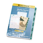 Daytimer Coastlines Dated Two-Page-per-Week Organizer Refill, 5-1/2 x 8-1/2