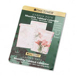 "Daytimer Garden Path Dated Looseleaf Refill, Two Pages per Month, 5 1/2"" x 8 1/2"""