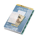 Daytimer Coastlines Dated Two-Page-per-Week Organizer Refill, 3-3/4 x 6-3/4