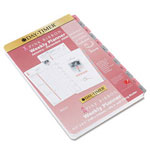 "Daytimer Pink Ribbon Personal Planner Weekly Refill, 2 Pages per Week, 5 1/2"" x 8 1/2"""