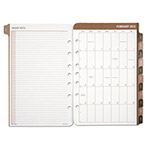 Daytimer Sandalwood Two-Page-Per-Day Planner Refill, 5 1/2 x 8 1/2, 2016