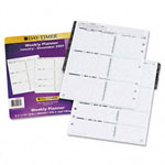 Daytimer Dated Two-Page-Per-Week Organizer Refill, January-December, 8-1/2 x 11