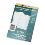 Daytimer Dated Two Page-per-Month Organizer Refill, January-December, 3-3/4 x 6-3/4, 2015