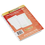 "Daytimer Dated Two-Page-per-Month Organizer Refill, January December, 5 1/2""x8 1/2"""