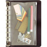 Daytimer Vinyl Zip Pouch for Folio Size Looseleaf Planners, 1/Pack