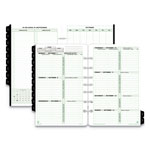 "Daytimer Calendar Set, Jan. Dec., 2 PPW, Desk Size, 5 1/2""x8 1/2"""