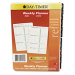 Daytimer Two-Page-per-Week Academic Organizer Refill, July-June, 5-1/2 x 8-1/2