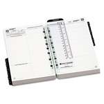 Daytimer Dated 2-Page/Day Academic Organizer Refill, July-June, 5-1/2 x 8-1/2, 2014-2015