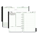 Daytimer Reference Dated Two-Page-per-Day Organizer Refill, 5 1/2 x 8 1/2, 2018