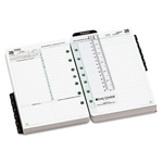Daytimer Two-Page-per-Day Academic Organizer Refill, July-June, 5-1/2 x 8-1/2