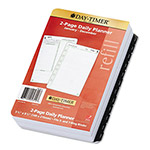 Daytimer Reference Dated Two-Page-per-Day Organizer Refill, 5-1/2 x 8-1/2, 2016