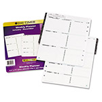 Daytimer Dated Two-Page-per-Week Organizer Refill, January-December, 8-1/2 x 11, 2016