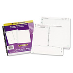 Daytimer Reference Dated Two-Page-per-Day Organizer Refill, Jan.-Dec., 8-1/2 x 11, 2015
