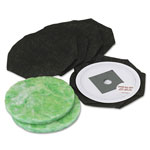 Data-Vac Toner Replacement Bags/Filters for Pro Data Vac Systems, 5 Bags & 2 Filters/Pack