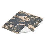 Duck® Tape Sheets, Digital Camo, 6/Pack