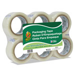 "Duck® Commercial Grade Packaging Tape, 2"" x 2, 1.88"" x 110 yds, Clear, 3"" Core, 6/Pack"
