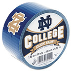 "ShurTech Brands LLC College DuckTape, Notre Dame Fighting Irish, 1.88"" x 10 yds, 3"" Core"