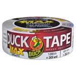 "ShurTech Brands LLC MAX Duct Tape, 1.88"" x 35 yds, 3"" Core, White"