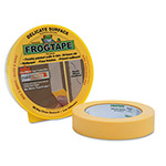 "Duck® FROGTAPE Painting Tape, .94"" x 60 yards, 3"" Core, Yellow"