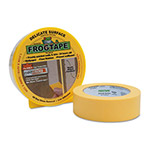 "Duck® FROGTAPE Painting Tape, 1.41"" x 60 yards, 3"" Core, Yellow"