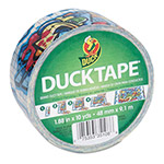 "ShurTech Brands LLC Colored Duct Tape, 1.88"" x 10 yds, 3"" Core, Graffiti"