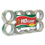 "Duck® HD Packing Tape, 1.88"" x 54.6yds, 2.6mil, 8/PK, Clear"