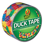 "ShurTech Brands LLC Colored Duct Tape, 1.88"" x 10 yds, 3"" Core, Gummy Bears"