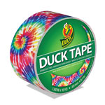 "ShurTech Brands LLC Colored Duct Tape, 1.88"" x 10 yds, 3"" Core, Love Tie Dye"