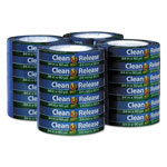 "Duck® Clean Release Painter's Tape, 0.94"" x 60 yds, 3"" Core, Blue, 24 per pack"